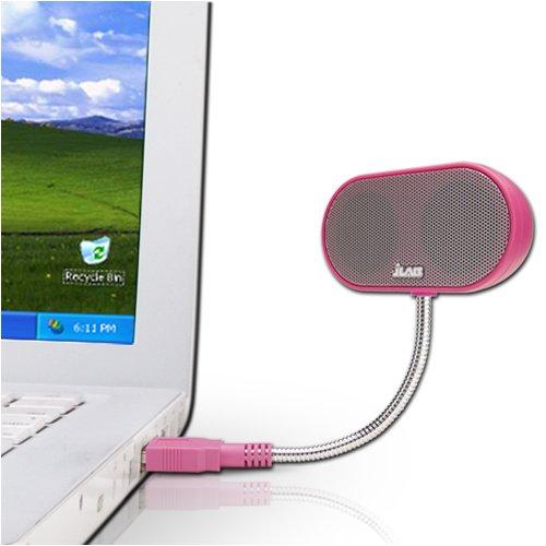 JLab USB Laptop Speakers - Portable, Compact,