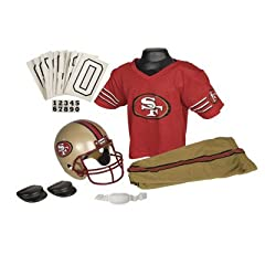 NFL San Francisco 49ers Youth Uniform Set, Size Small by NFL