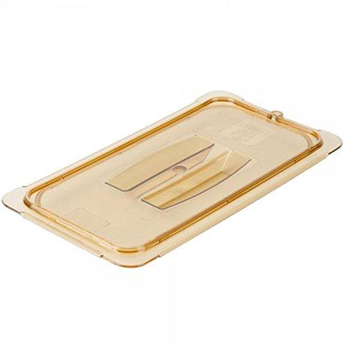 carlisle-10470u13-storplushigh-heat-universal-lids-set-of-6-1-3-size-high-heat-plastic-amber-nsf