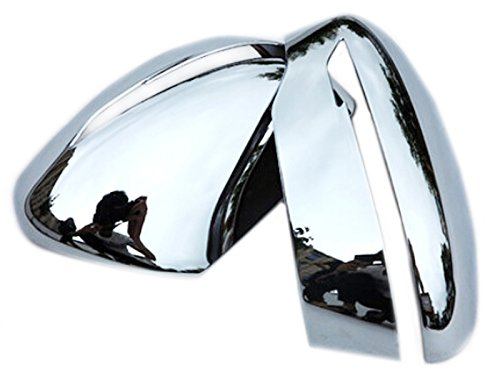 Side Door Reaview Mirror Cover Trim Chrome For Nissan Rogue X-trail 2014 2015 (Nissan Rogue Mirror compare prices)