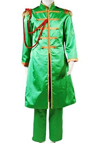 The Beatles Costume Sgt. Pepper's Lonely Hearts Club Band Cosplay Outfit Suit Jacket ()