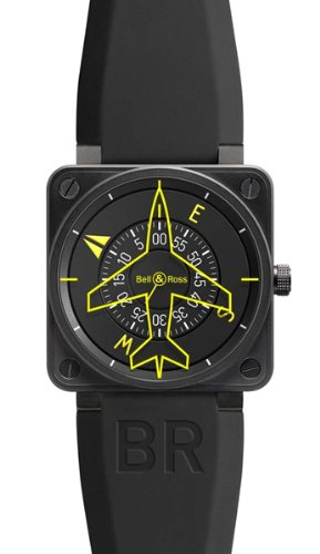Bell & Ross Aviation Heading Indicator Limited Edition Watch BR 01-92