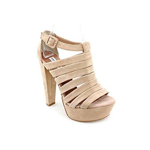 Steve Madden Women'S Audrinaa Platform Sandal,Blush Suede,6.5 M Us front-974512