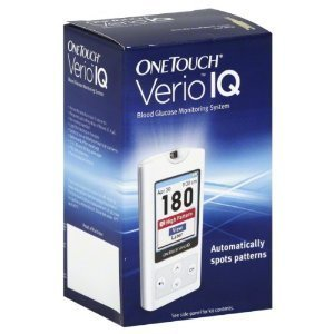 Onetouch Verio Iq Blood Glucose Monitoring System 1 Monitor back-738426