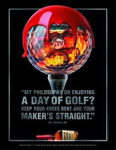 print-ad-for-makers-mark-whisky-waxed-golf-ball-print-ad