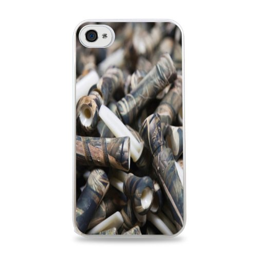 Duck Dynasty Duck Commanders White Hardshell Case For Iphone 6 (4.7 Inch) I6 front-826740
