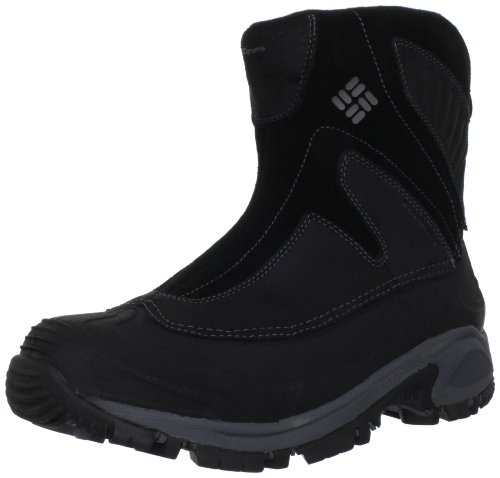 Columbia Men's Snowtrek Snow Boot,Black/Charcoal,7.5 M US