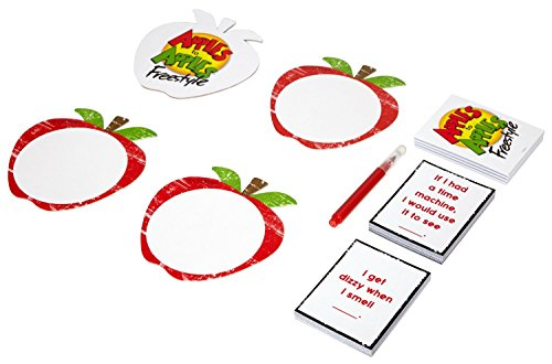 Apples to Apples Freestyle Card Game, Frustration-Free Packaging