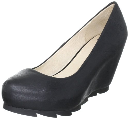 Bronx Women's BX172-981-D Black Wedges Heels 64981-D1 6 UK