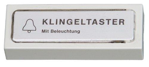 205201022 Klingelplatte Kunststoff, weiß