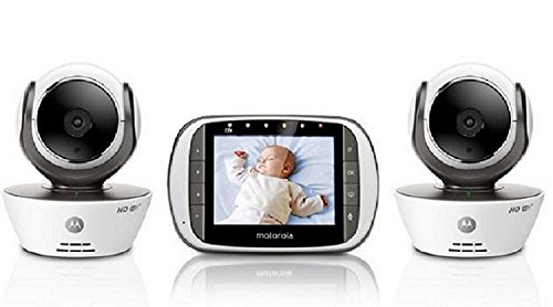 motorola mbp853connect digital video baby monitor 2 cameras with wi fi intern. Black Bedroom Furniture Sets. Home Design Ideas