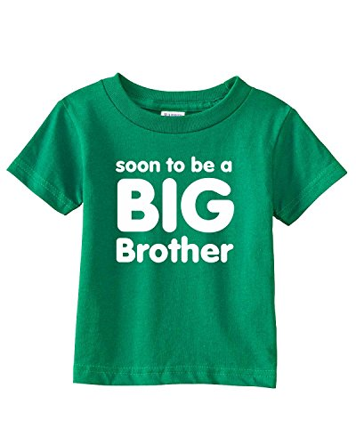 Soon to be a BIG BROTHER Infant/Toddler Tee~Kelly Green~Toddler-3T (Future Big Brother compare prices)