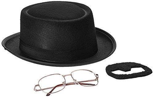 Rasta Imposta Men's Breaking Bad Heisenberg Kit, Black, One Size - 1