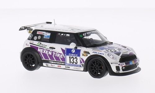 mini-jcw-no133-racing-4-friends-nexen-24h-nuerburgring-2014-voiture-miniature-miniature-deja-montee-