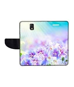 KolorEdge Printed Flip Cover For Samsung Galaxy Note 3 Neo Multicolor - (55KeMlogo09264SamN750)