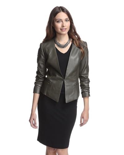 Catherine Catherine Malandrino Women's Peyton Faux Leather Jacket