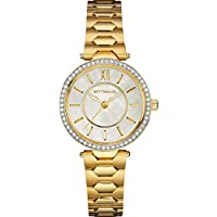 Wittnauer Taylor Mini Gold-Tone Stainless Steel Women's Bracelet Watch