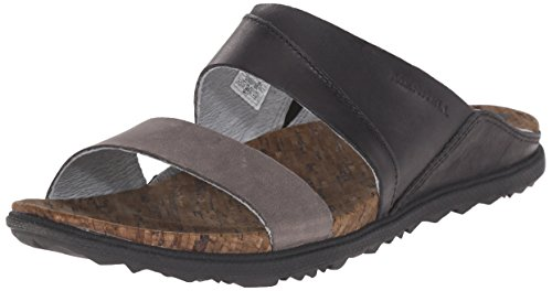 Merrell Women's Around Town Slide Sandal, Black, 8 M US (Shoes Inc Women Sandals compare prices)