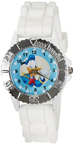 Disney Analog Multi-Color Dial Boys's Watch - LP-1004 (White) (multicolor)