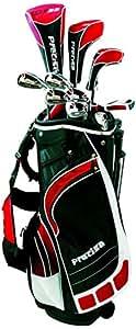 Precise ML55 Men's Package Golf Club Set - Black/Red