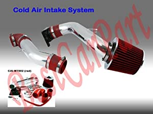 00 01 02 03 04 05 Eclipse Rs Gs 2.4l Cold Air Intake Red ( Included Air Filter) # Cai-mt002r