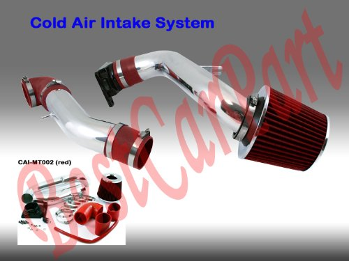 01 02 03 04 05 Dodge Stratus Coupe 2.4L Cold Air Intake (Include Air Filter) Red#Cai-Mt002Red