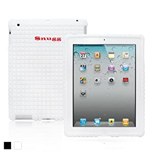Snugg iPad 2 / 3 / 4 Silicone Case - Protective, Non-Slip Silicone Case With Lifetime Guarantee (White) For Apple iPad 2, iPad 3 & iPad 4