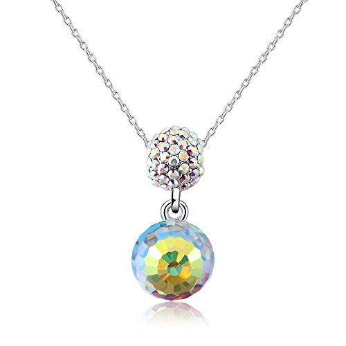 collar-con-colgante-de-mujer-18-forma-de-color-bola-swarovski-cristal-chapado-de-rodio