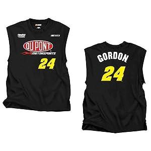#24 Jeff Gordon 2012 Dupont Player Sleeveless Mens Tee Shirt -94424 by Brickels