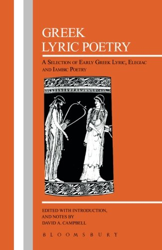 Greek Lyric Poetry (Bcp Greek Texts)