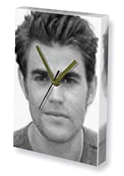 PAUL WESLEY - Canvas Clock (LARGE A3 - Signed by the Artist) #js004