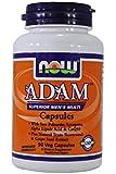 Now Foods Adam le Multivitamin de Mens ( Men's Multivitamin ) x90Vcap avec le Coenzyme Q10, l'extrait de graine de raisin, a vu le palmetto, Resveratrol, Lutéine