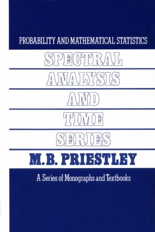 Spectral Analysis and Time Series. Volume 1: Univariate Series.