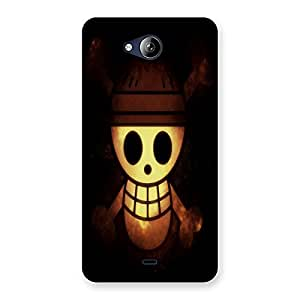 Unicovers Cute Ghost Back Case Cover for Canvas Play Q355