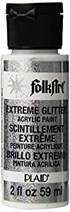Folk Art 2796 Extreme Glitter 2-Ounce Acrylic Paint, Hologram