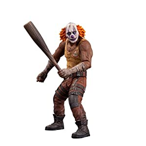 DC Collectibles Batman: Arkham City: Series 3 Clown Thug with Bat Action Figure