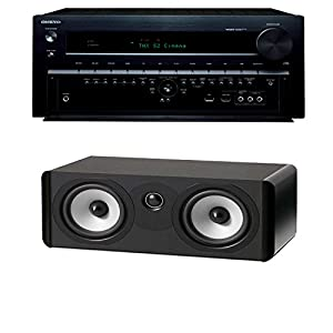 Onkyo TX-NR838 7.2 Channel Networking Home Theater Receiver Plus A Boston Acoustics A 225C Dual 5.25-Inch Center Channel Speaker from Onkyo