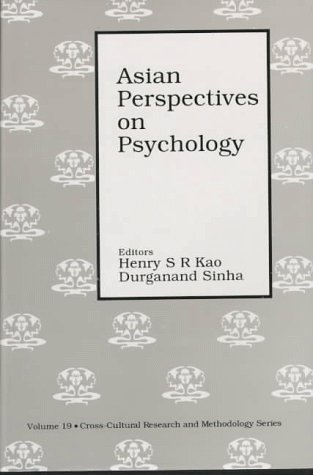 Asian Perspectives on Psychology (Cross-Cultural Research and Methodology series)