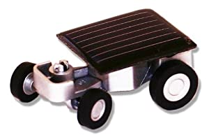 River City Clocks World'S Smallest Solar-Powered Car with Carrying Case