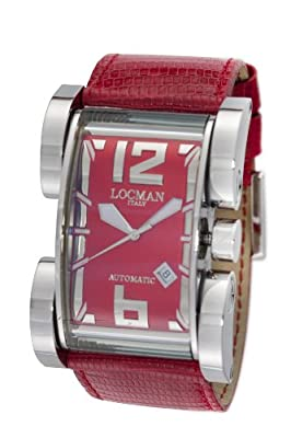 Locman Men's 500RD Latin Lover Collection Steel Watch