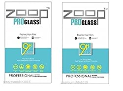 Zoop Premium 2.5D Rounded 9H 2.6mm Anti Burst Tempered Glass Pack of 2 for Sony Xperia Z3 Compact