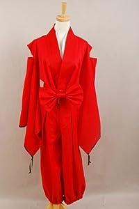 Inuyasha Inu-yasha Cosplay Red Costume (XL-Woman)