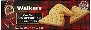 Walkers Shortbread Triangles, 5.3-Ounce (Pack of 4)