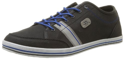 Kappa Men's Brador Man Trainers Black Noir (Black/Lt Grey/Blue/White) 8 (42 EU)