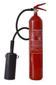 5 kg Co2 Kohlendioxid Feuerlöscher, DIN, EN 3, inkl. Wandhalter + ANDRIS® ISO Piktogramm und Instandhaltungsnachweis mit Jahresmarke.  BaumarktKundenbewertungen