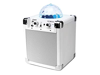 ION House Party Portable Sound System with Built-In Light Show (white) by ION Audio