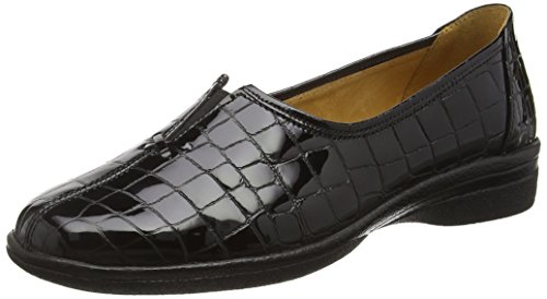 Gabor Shoes Comfort Basic, Mocassini Donna, Nero (Schwarz 97), 43 EU