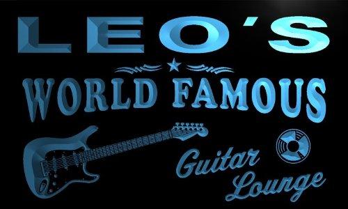 pf168-b-leos-guitar-lounge-beer-bar-pub-room-neon-light-sign