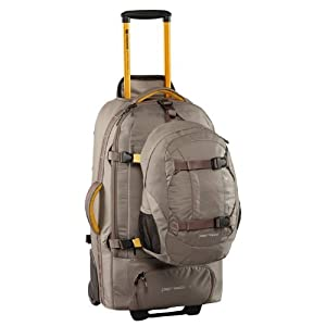 Caribee Fast Track 75 Wheeled Backpack (Platinum) by Caribee