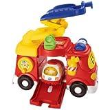 Vtech - 151315 - Véhicule Miniature - Tut Tut Bolides - Mon Super Camion De Pompiers - + Clémence Sos Ambulance